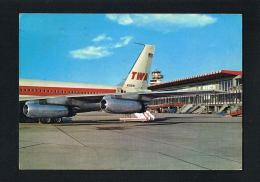 """ROMA   FIUMICINO- Aeroporto Intercontinentale Di Roma """" Leonardo Da Vinci"""" -Recto Verso-    PAYPAL FREE - Transports"""