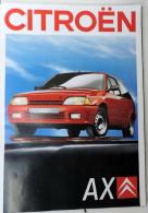Plaquette De Vente Citroën AX - Werbung