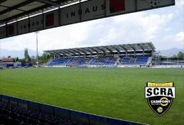 Stadium Cashpoint Arena (SC Reindhorf Altach,Austria) Postcard - Size: 15x10 Cm. Aprox - Fútbol