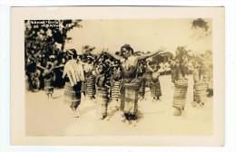 CARTE PHOTO PHILIPPINES LUZON(Luçon) Dancing Girls Kalinga - Philippines