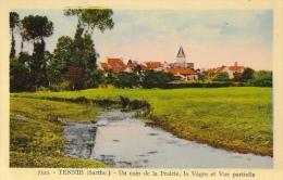 Tennié (Sarthe) - Un Coin De La Prairie, La Vègre Et Vue Partielle - Edition A. Dolbeau - Carte Non Circulée - Other Municipalities