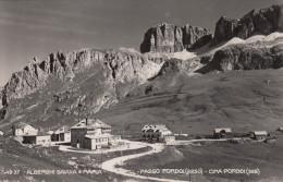 PASSO PORDOI - CIMA PORDOI /   Alberghi Savoia E Maria  _Viaggiata - Trento