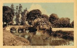 Tennié (Sarthe) - Le Pont Sur La Vègre - Edition A. Dolbeau - Carte Non Circulée - Other Municipalities