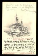 S.M.S. ´Kaiserin Und Konigin Maria Theresia' / Verlag Alois Ebeseder / Year 1900 / Old Postcard Circulated - Boten