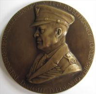 M05100  DIGHT EINSENHOWER - COMMANDER ALLIED EXPEDITIONARY FORCES  - Son Buste  (128g) - Professionals/Firms