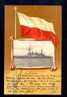 S.M.Schiff 'Maria Theresia' Pola / Year 1901 / Old Postcard Circulated - Bateaux