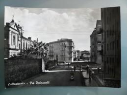 Caltanissetta - Via Palmintelli - Non Viaggiata - Timbro Sul Retro: Campione Di Repertorio Per Riordini - Caltanissetta