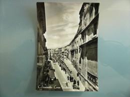 Caltanissetta - Corso Umberto I - Non Viaggiata - Timbro: Campione Per Ristampe - Caltanissetta