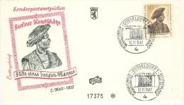 Enveloppe De Düsseldorf Du 12/11/1967     Thème Du Conseil De L'Europe     Cachet De Düsseldorf Illustré De L'entrée De