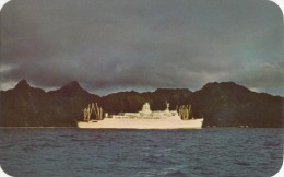 Sunset At RARATONGA, Rarotonga, Unused Postcard [16376] - Cook