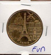 Monnaie De Paris : Les 5 Monuments De Paris - 2012 EVM - Monnaie De Paris
