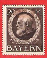 MiNr.109 I X (Falz) Altdeutschland Bayern - Bayern
