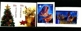 AUSTRALIA - 2011  CHRISTMAS  SELF ADHESIVE SET  MINT NH - 2010-... Elizabeth II