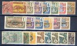 Congo Lotto Di 23 Bolli Spezzature Di Varie Serie MNH, MH, USATI. Catalogo € 12 - Unclassified