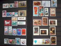 77 Theme Stamps MNH Soviet Union - Collections (sans Albums)