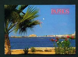 CYPRUS  -  Paphos  Used Postcard As Scans - Cyprus