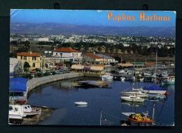 CYPRUS  -  Paphos Harbour  Used Postcard As Scans - Cyprus