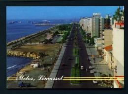 CYPRUS  -  Limassol  Molos  Unused Postcard - Cyprus