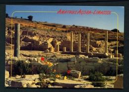 CYPRUS  -  Limassol  Amathus Agora  Unused Postcard - Cyprus