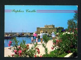 CYPRUS  -  Paphos Castle  Unused Postcard - Cyprus