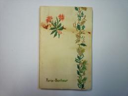 Petit  CALENDRIER  PUB  PORTE-BONHEUR  1958   XXX - Calendriers