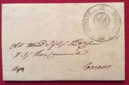 1849 PREFILATELICA REPUBBLICA ROMANA  GOVERNO DI SORIANO - Completa Di Testo - Stamps