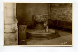 THE FONT, ST. MARY'S CHURCH, BEVERLEY. - England