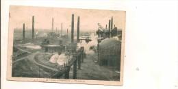 Carte Postale Ancienne : Usines D' ISBERGUES : Vue Generale - Isbergues
