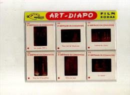 - POCHETTE DE 6 DIAPOS . ST BERTRAND DE COMMINGES . ART-DIAPO KODAK . - Dias