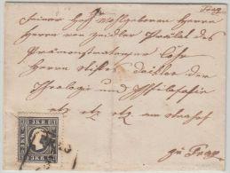 25980 Österreich, 1858, Böhmen PRAG. 11 I, Ortsbrief, FB 1000,- - 1850-1918 Empire