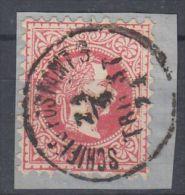 25984  Österreich, 1867, Küstenland. TRIEST SCHIFFSPOSTAMT 3, 37 I, Bfstk., P! - 1850-1918 Empire