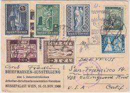 26004 Österreich, 1946/1951, Partie Belege Mit Zensuren (5), U.a. Express, Reko, Teils Ins Ausland, Fundgrube Usw.,P -GF - 1945-.... 2ème République