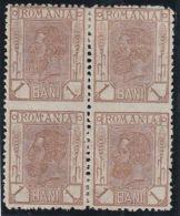 26022  Mi #127 Bloc Of Four Imperforated In Between (un)mounted Mint */** - Variétés Et Curiosités