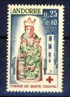 Andorra 1964 N. 172 C. 25 + C. 10 **MNH Catalogo € 35 - Andorra Francese