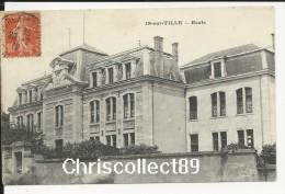 Carte Postale :  Is sur Tille - Ecole