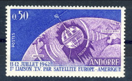 Andorra 1962 N. 65 Telecomunicazioni C. 50 * MVLH Catalogo € 2,50 - Andorra Francese