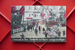 Cpa.z - Nice (06) - Carnaval - 1907 - Vaudeville De L'opium - Au Pays Des Songes - éditions Guende - France