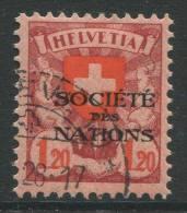769 - SDN 1.20 Fr. Wappenschild Mit Abart HFLVETIA - Variétés