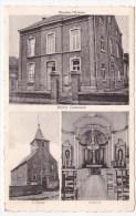 Walshoutem: Maison Communale Et L' Eglise. - Landen