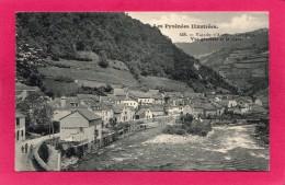 64 PYRENNEES-ATLANTIQUES SARRANCE, Vallée D'Aspe, Le Gave D'Aspe, Animée, Commerces - France