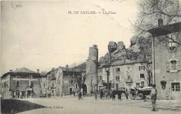 LE CAYLAR - La Place (carte Vendue En L'état). - Unclassified