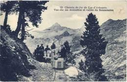 Chemin De Fer Du Lac D'Artouste – Vue Sur Les Arcizettes Et Vallée Du Soussouéou - Autres Communes