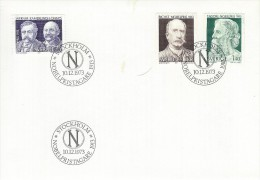 Nobel Prize Winners.  Fdc.  Sweden  H-675 - Premio Nobel
