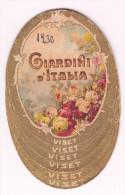 """COLLESANO ( PA) Anno 1930 / Giardini D'Italia - Calendario Pubblicitario _ Premiata Sartoria """" G. VACCARELLA """" Collesano - Formato Piccolo : 1921-40"""