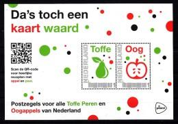 Nederland 2015 Da's Toch Een Kaart Waard: Fruit, Appel + Peer , Apple + Pear - Period 2013-... (Willem-Alexander)