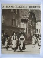 1915 -  DANNEMARIE  - Ville Redevenue Française    - Coupure De Presse Originale (encart Photo) - Documenti Storici