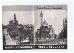 PARIS    SAINT ETIENNE DU MONT  NEFS ET CLOCHERS - Ile-de-France