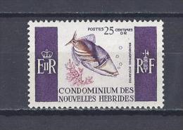 NOUVELLES-HEBRIDES . YT 240 Série Courante 1966 Neuf ** - Leggenda Francese