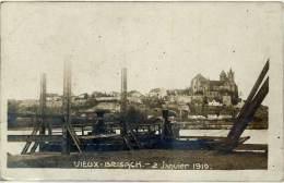 Vieux-Brisach – 2 Janvier 1919, Carte-photo - France