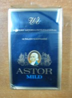 AC - ASTOR MILD #1 HARD PACK CIGARETTES TOBACCO UNOPENED BOX FOR COLLECTION - Altri